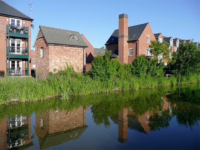 New housing near Market Bosworth, Leicestershire
