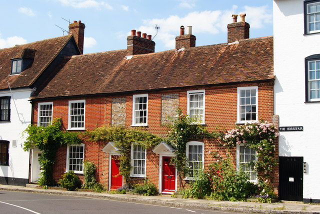 Houses in  The Horsefair, Romsey, Hampshire