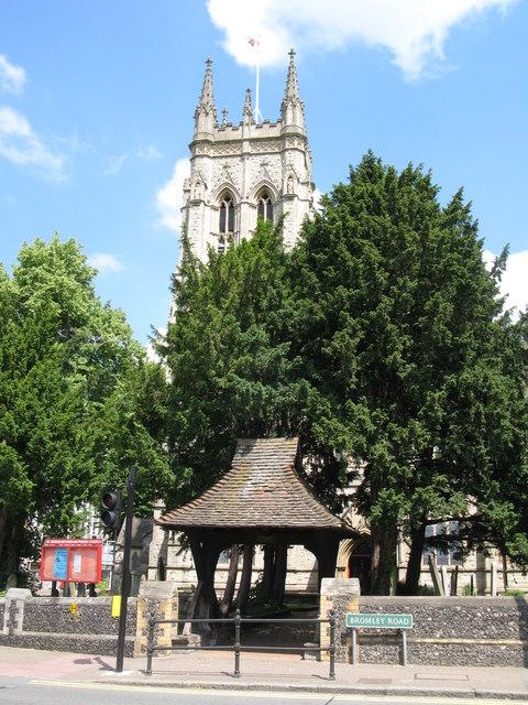 St. George's Church - lych gate