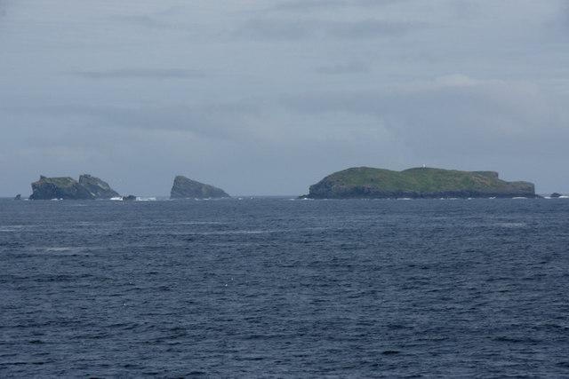 Ramna Stacks from off Fethaland
