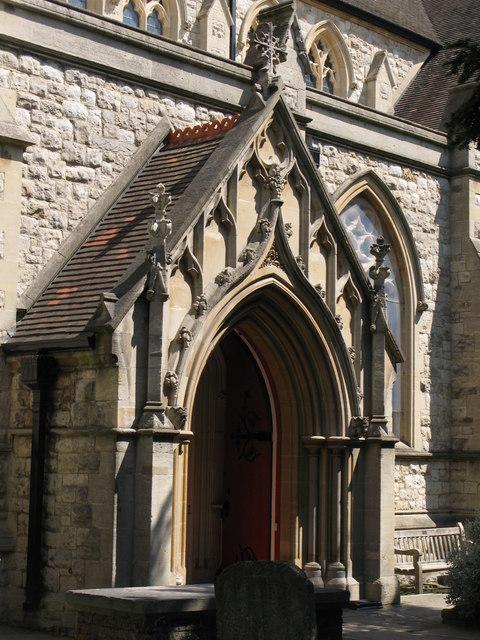 St. George's Church - porch