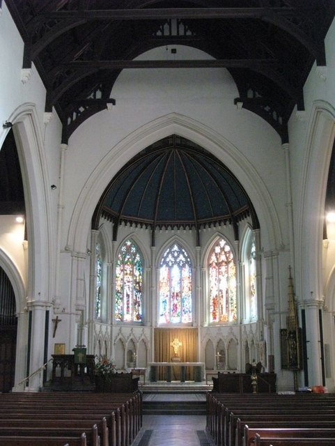 St. George's Church - nave and chancel