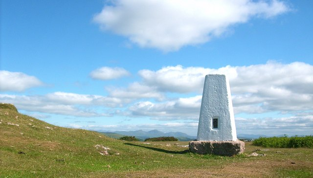Triangulation Pillar on the summit of Birkrigg Common