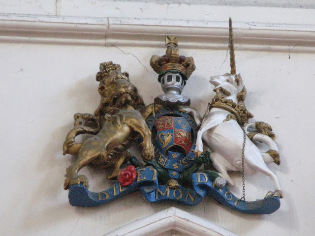 St. George's Church - royal coat of arms