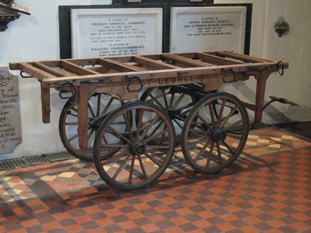 St. George's Church - old hearse