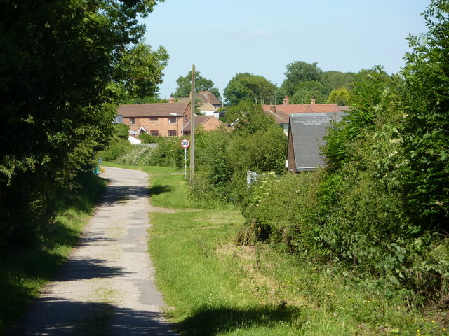 Brough Lane towards Elkesley