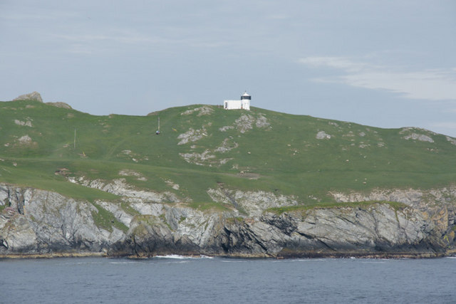 Lighthouse on the Isle of Fethaland