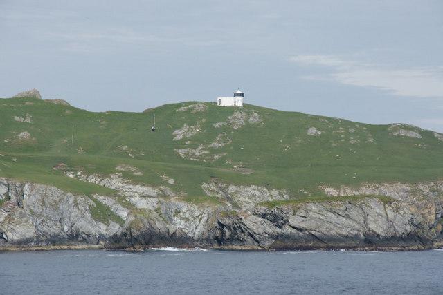 Lighthouse on the Isle of Fethaland