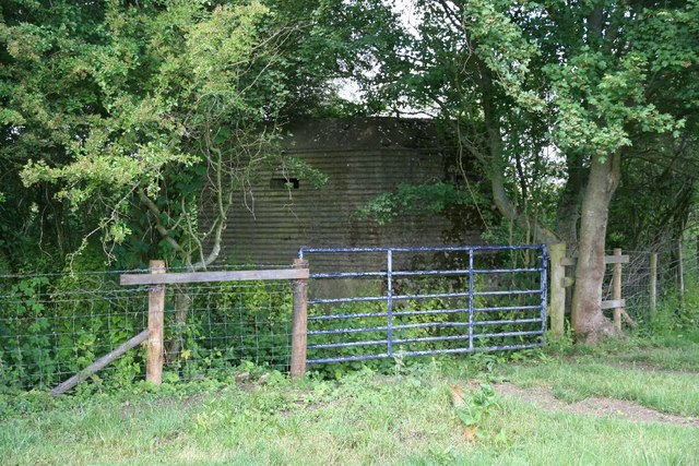 Pillbox by the gate