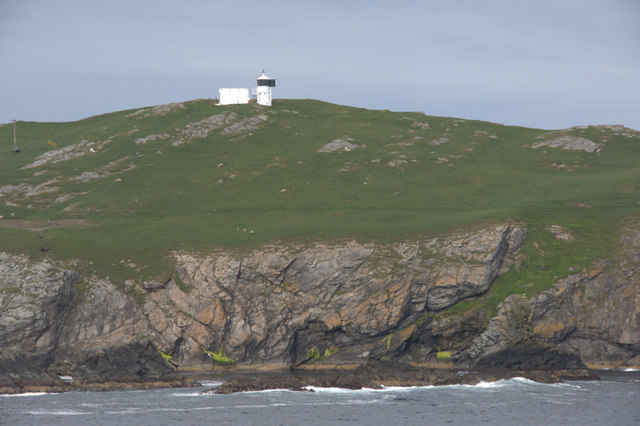 Fetha Skerries and Fethaland Lighthouse