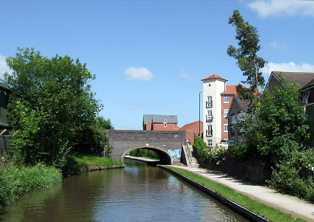 The Coventry Canal at Nuneaton, Warwickshire
