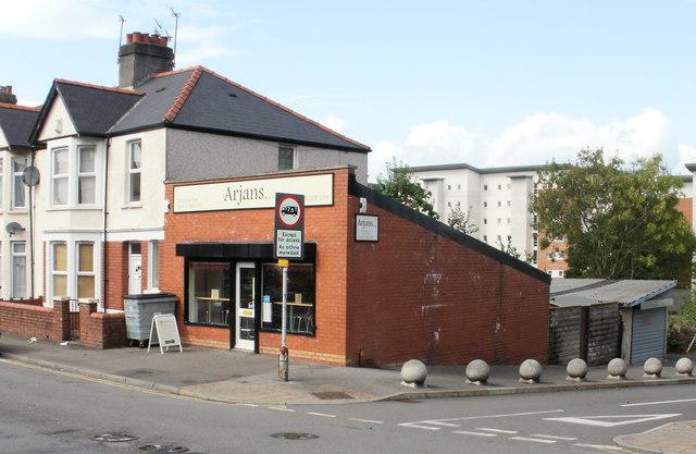 Arjans cafe, Cardiff