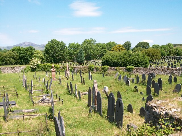 Older section of Denio Cemetery