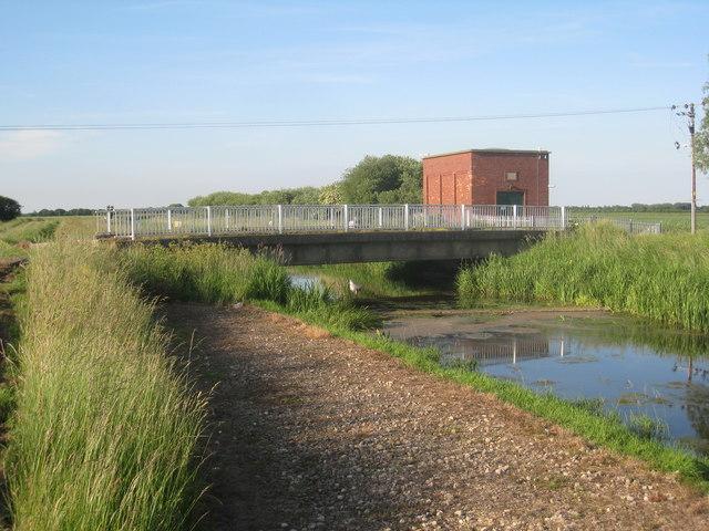 Greenholme Pumping Station and bridge