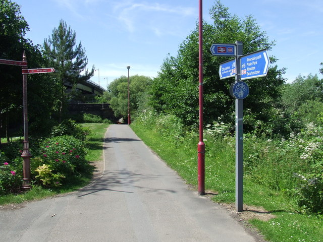 Riverside Path, Derby