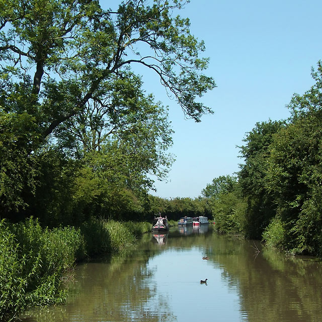The Ashby Canal in Warwickshire, south of Hinkley