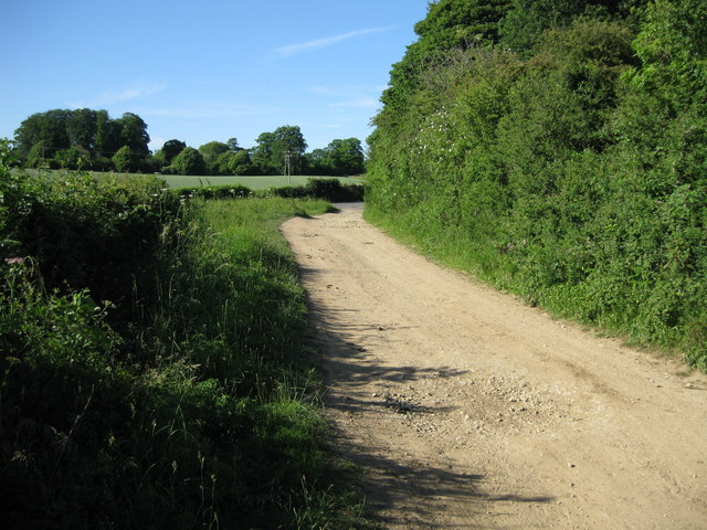 Green Lane meets minor road