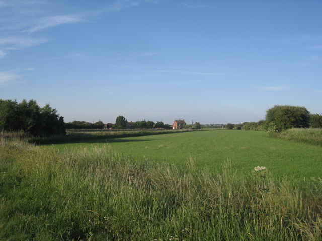 View across to Fountain Farm