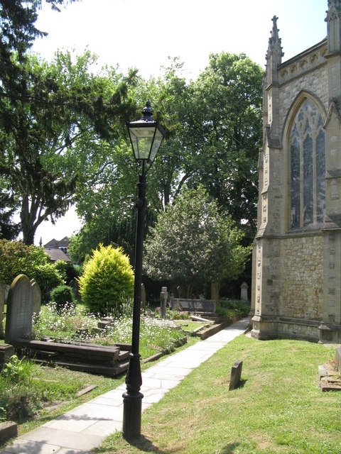 St. George's Church - churchyard