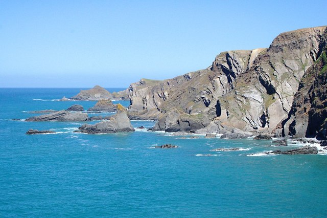 The Cliffs North of Hartland Quay