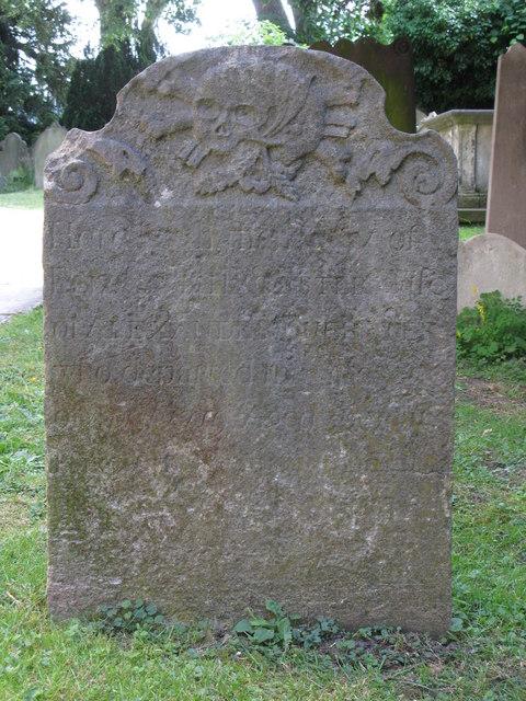 St. George's Church - old gravestone
