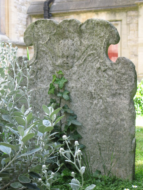 St. George's Church - old gravestone (3)
