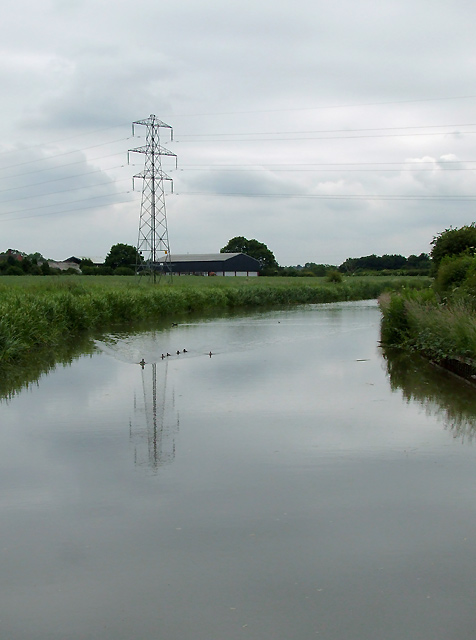 The Ashby Canal near Bedworth, Warwickshire