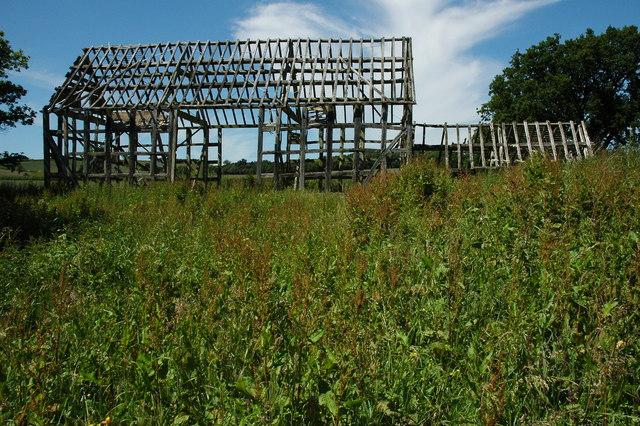 Timber-frame barn, Ragley