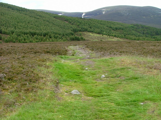 Path to Carn Ban Mor