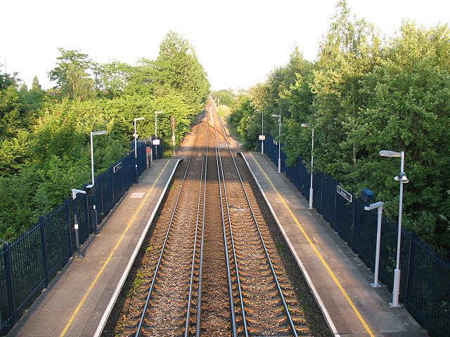 Railway east of Kidbrooke