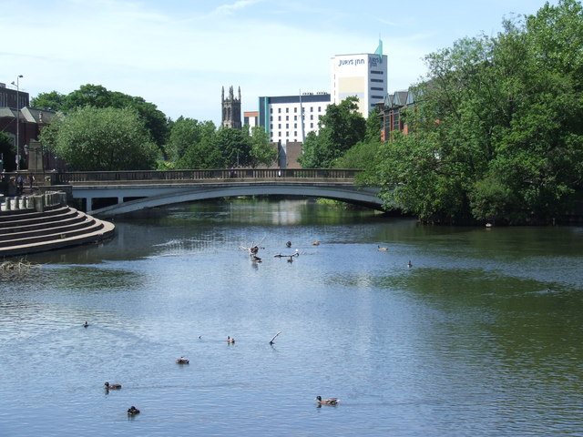 River Derwent, Derby