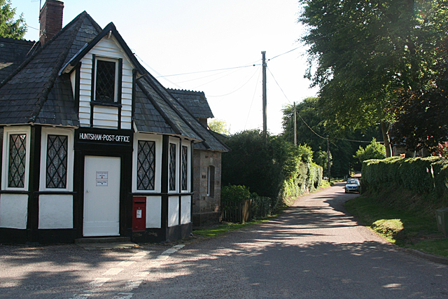 Huntsham: by the Old Post Office