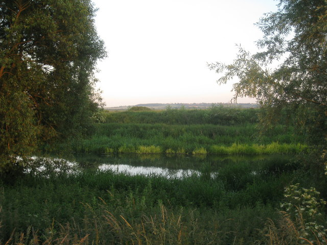 Glimpse of the River Idle