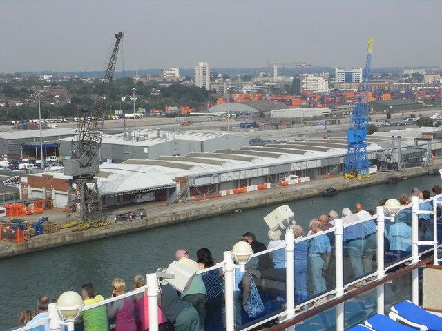 Mayflower Cruise Terminal, Southampton