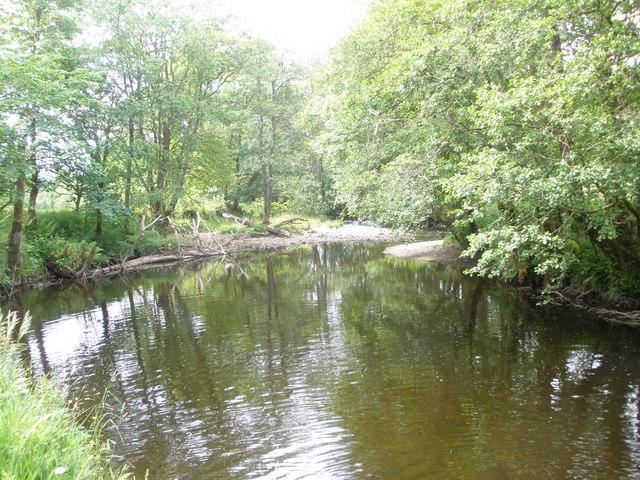 River Shira below Beinn-bhuidhe House