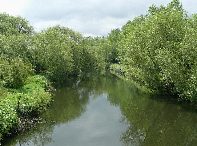 River Tame near Fazeley, Staffordshire