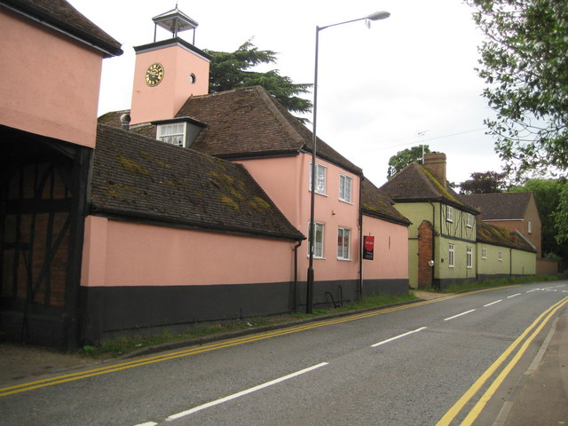 Ickleford: Turnpike Lane and the Clock House
