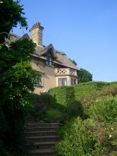 How Hill House from the garden