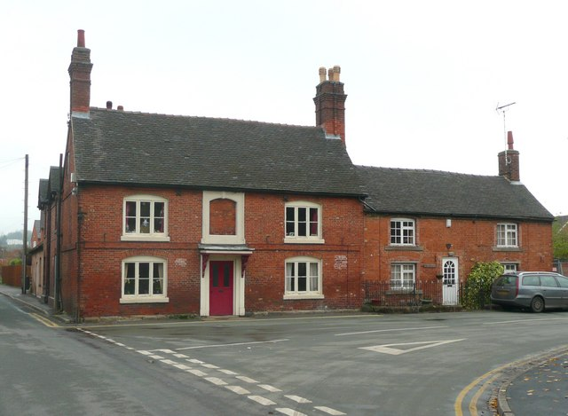 The former Queen's Arms Hotel, Rocester