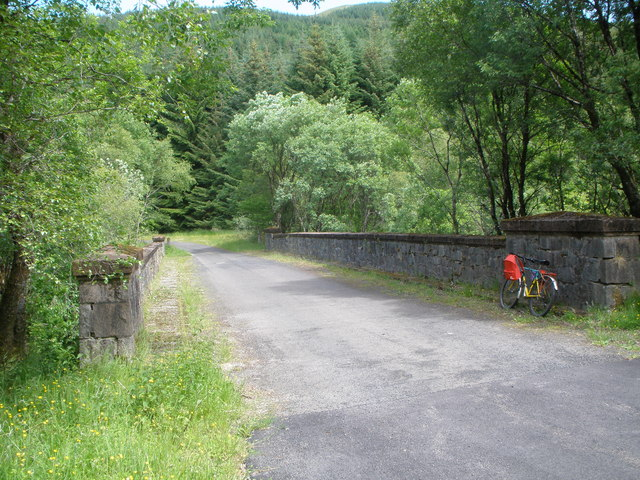 Bridge over the Brannie Burn