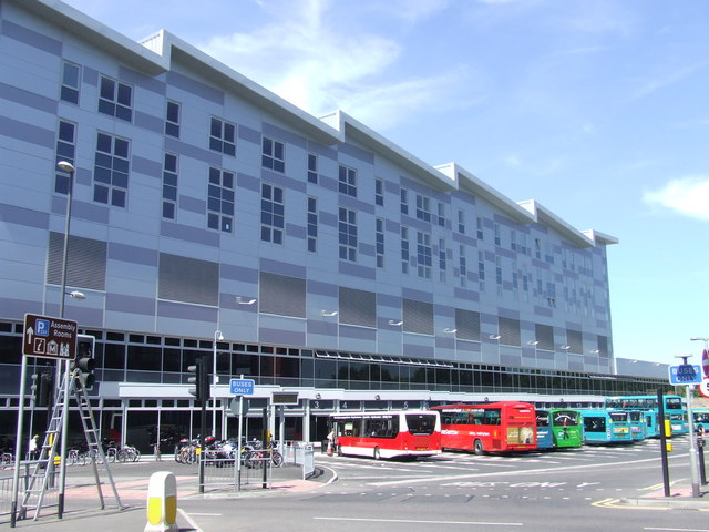 Derby's new Bus Station