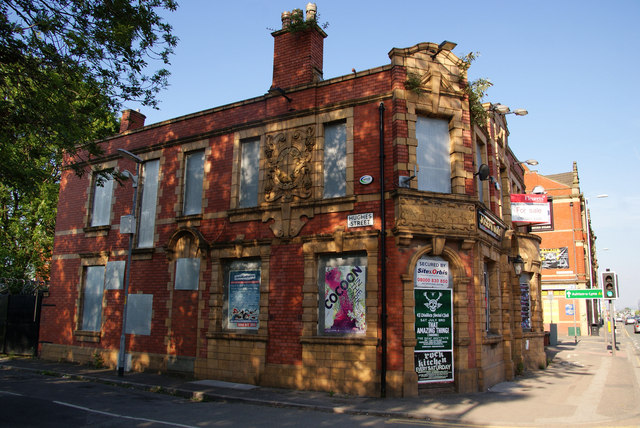 The Seven Stars - a Holts pub which didn't make it