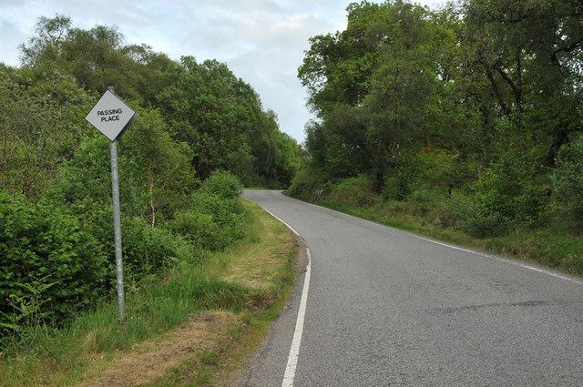 B845 in Glen Nant