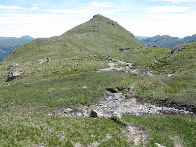 Col between Cruach Ardrain and Beinn Tulaichean