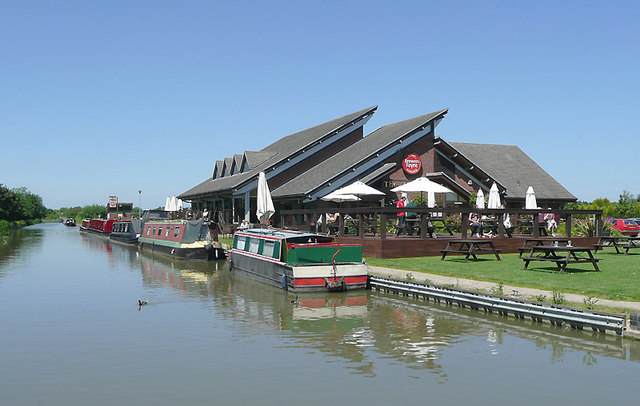 The Marina pub at Hinckley, Leicestershire