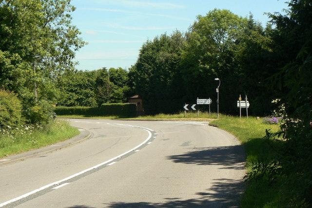 Keyworth Lane junction