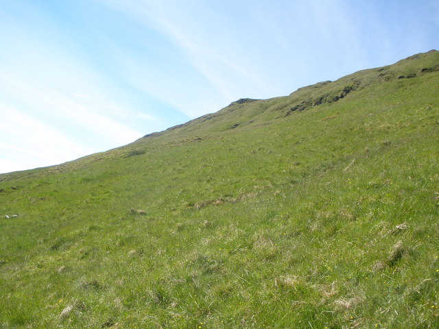 Lower slopes of Tom a' Phiobaire