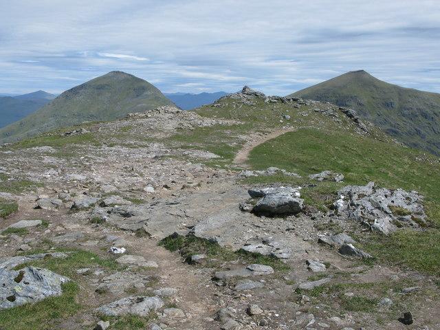 Summit of Cruach Ardrain