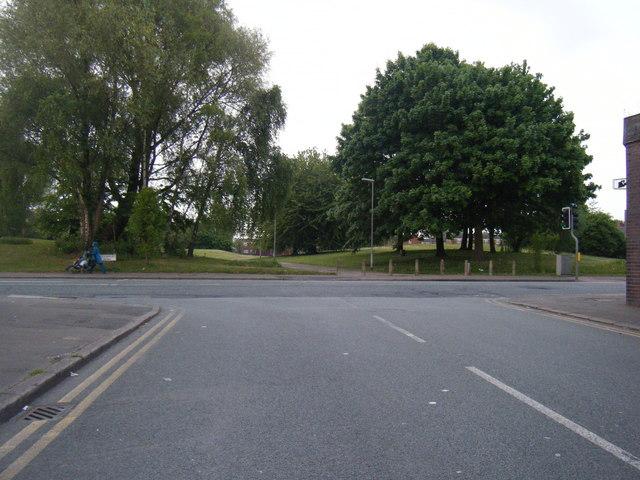 Stockport Road/ Hathersage Road junction