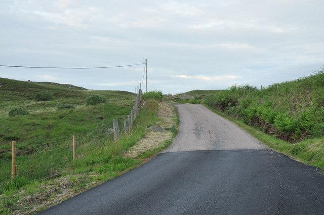 Minor road near Kilchrenan